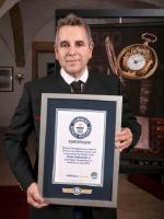 Louis Moinet попадает в книгу рекордов Гиннеса за «Первый в мире Хронограф»