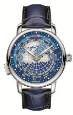 Новая модель часов Montblanc Star Legacy Orbis Terrarum для путешественников