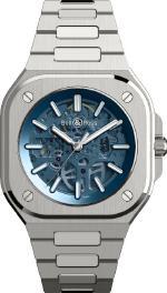 BR05 SKELETON BLUE – новый уровень прозрачности в часовом мире.