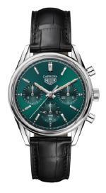 Стильный образ короля хронографов TAG Heuer Carrera Green Limited Edition