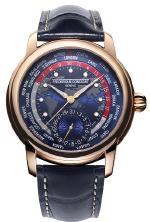 часы Classic Worldtimer Manufacture из розового золота