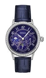 Запатентованный вечный календарь Montblanc сияет как звездное небо
