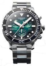 Tissot Seastar 1000 Quartz Chrono Элегантность водной стихии