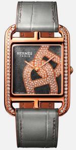 Новинка Hermes часы Cape Cod Chaîne d'ancre