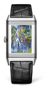 Jaeger-LeCoultre представляет часы Reverso Tribute Enamel Hokusai «Водопад Кирифури»